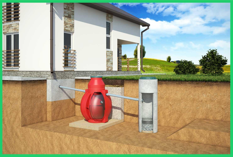 Отвод воды с применением фильтрационного колодца