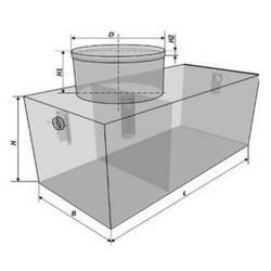 Емкость прямоугольная оникс танк схема