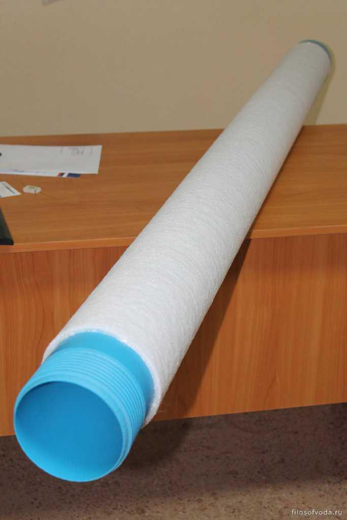 Фильтр с применением волокнисто-пористого полиэтилена